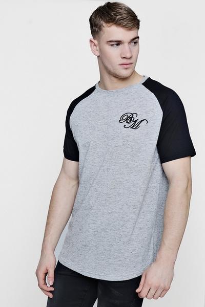 Light Grey & Black Shoulders