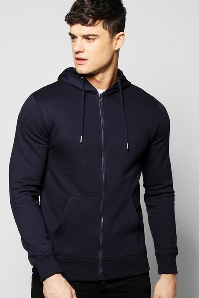 Dark Navy Hood