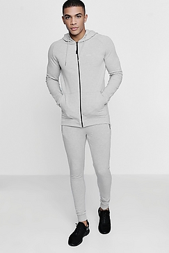 Overall White Active Wear
