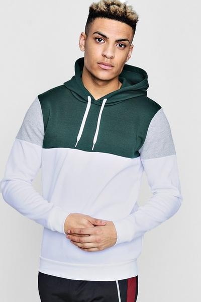 White Grey Hood