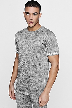 Grey Distorted Active Wear